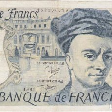 Billetes extranjeros: BILLETES FRANCIA - 50 FRANCS 1991 - SERIE W.65 - PICK-152E (MBC). Lote 66179366