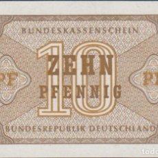 Notas Internacionais: BILLETES - GERMANY-ALEMANIA 10 PFENNIG ND - PICK-26 (SC). Lote 236850775