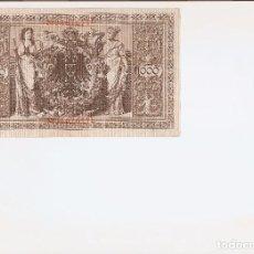 Billetes extranjeros: PRECIOSO BILLETE DE1000 MARCOS DE 1910 EL DE LAS FOTOS VER LA CALIDAD DEL BILLETE. Lote 66538670