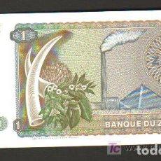 Billetes extranjeros: ZAIRE - 1 ZAIRE 1979 SC P.19 UNC. Lote 67185961
