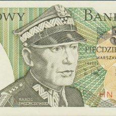 Billetes extranjeros: BILLETES - POLONIA 50 ZLOTYCH 1988 - SERIE HN 5010799 - PICK-142C (SC). Lote 147108356