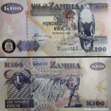 Billetes extranjeros: ZAMBIA. BILLETE 100 KWACHA (2011) SIN CIRCULAR. Lote 71668414