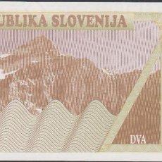 Billetes extranjeros: BILLETES - ESLOVENIA - 2 TOLARJEV 1990 - SERIE AJ 90341938 - PICK-2 (SC). Lote 190901398