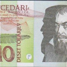 Billetes extranjeros: BILLETES - ESLOVENIA - 10 TOLARJEV 1992 - SERIE HG 499068 - PICK-11 (SC). Lote 190901222