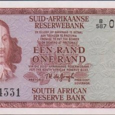 Billetes extranjeros: BILLETES - SOUTH AFRICA - 1 RAND (1975) - SERIE B/587 - PICK-116B (SC). Lote 67789473