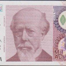 Billetes extranjeros: BILLETES - ARGENTINA - 1000 AUSTRALES - (1988-90) SERIE 54.404.144A - PICK-329A. Lote 128317583