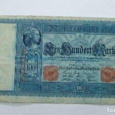 Billetes extranjeros: ANTIGUO BILLETE DE 100 MARCOS ALEMANES AÑO 1910. Lote 68026977