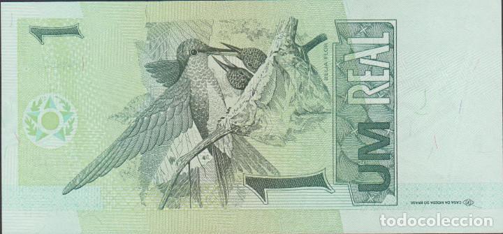 Billetes extranjeros: billetes - brasil - 1 real (1997) - serie c 3183052058 b - pick-243Aa (SC) - Foto 2 - 143660109