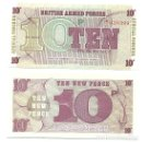 Billetes extranjeros: GRAN BRETANA - GREAT BRITAIN 10 PENCE 6 SERIE 1972 PICK M48.A UNC. Lote 160370661