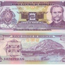 Billetes extranjeros: HONDURAS 2 LEMPIRAS 2006 PICK 80.A.F UNC. Lote 48308175