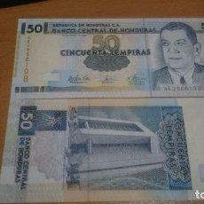 Billetes extranjeros: BILLETE DE 50 LEMPIRAS HONDURAS CALIDAD SC NICK 88 AÑO 2001/03 A ELEGIR. Lote 68907385