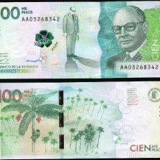 Billetes extranjeros: COLOMBIA 100000 (CIEN MIL) PESOS 2014 - PICK NUEVO - S/C UNC. Lote 147189561