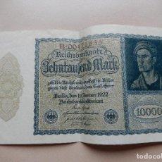 Billetes extranjeros: 10000 MARCOS SIN CIRCULAR. Lote 69744201