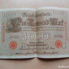 Billetes extranjeros: 1000 MARCOS SIN CIRCULAR. Lote 69744353