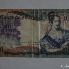 Notas Internacionais: BILLETE 1000 ESCUDOS PORTUGAL 1967. Lote 70032589