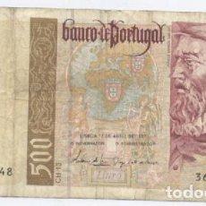 Billetes extranjeros: PORTUGAL- 500 ESCUDOS- 1997. Lote 71506351