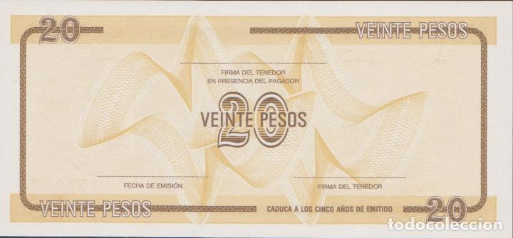Billetes extranjeros: BILLETES CUBA - 20 pesos ND (certificado de divisa) - serie fa 157095 - pick-no (SC) - Foto 2 - 167965241