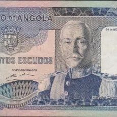 Billetes extranjeros: BILLETES - ANGOLA 500 ESCUDOS 1972 - SERIE QJ - PICK-102 (MBC). Lote 71540691
