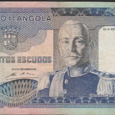Billetes extranjeros: BILLETES - ANGOLA 500 ESCUDOS 1972 - SERIE KP - PICK-102 (MBC-). Lote 71540747