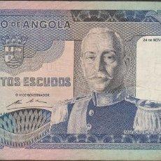 Billetes extranjeros: BILLETES - ANGOLA 500 ESCUDOS 1972 - SERIE FR - PICK-102 (MBC-). Lote 71540823