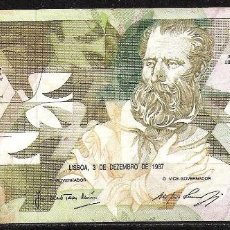 Billetes extranjeros: PORTUGAL 5000 ESCUDOS 1987 MBC/MBC+. Lote 71592083
