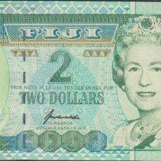 Billetes extranjeros: BILLETES - FIJI - 2 DOLLARS (1996) - SERIE AB - PICK-96B (SC). Lote 71867071