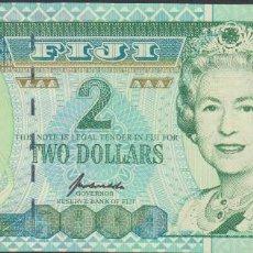 Billetes extranjeros: BILLETES - FIJI - 2 DOLLARS (1996) - SERIE AM 553736 - PICK-96B (SC). Lote 170460437