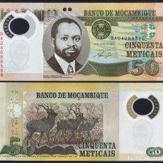Billetes extranjeros: MOZAMBIQUE - 50 METICAIS (POLYMERO) - 16 DE JUNHO DE 2011 - S/C. Lote 176568962