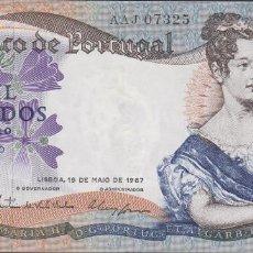 Billetes extranjeros: BILLETES - PORTUGAL 1000 ESCUDOS 1967 - SERIE AAJ - PICK-172 (EBC-). Lote 72429251