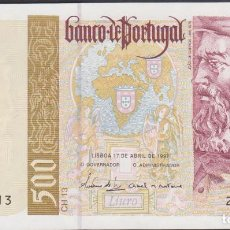 Billetes extranjeros: BILLETES - PORTUGAL 500 ESCUDOS 1997 - SERIE 25A601065 - PICK-187A (SC). Lote 188757813