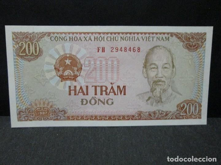 200 DONG VIETNAM SC (Numismática - Notafilia - Billetes Extranjeros)