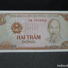 Billetes extranjeros: 200 DONG VIETNAM SC. Lote 72858003