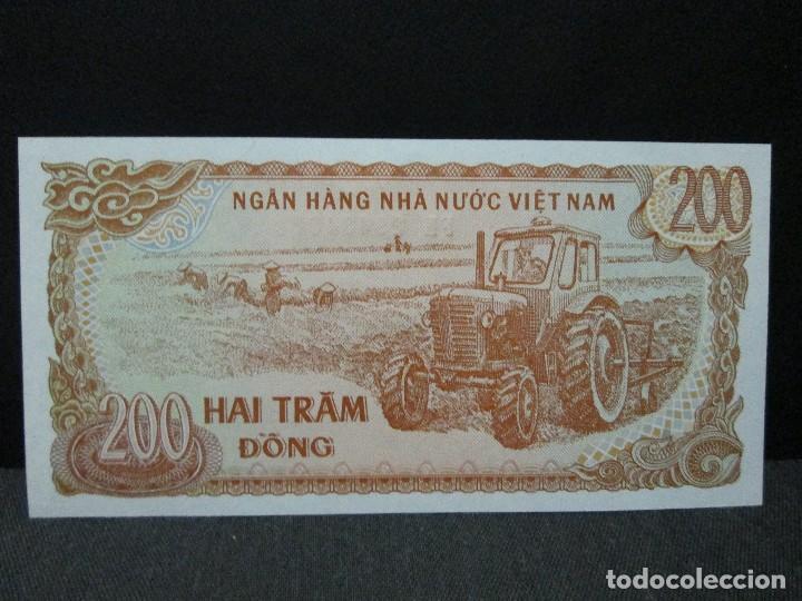 Billetes extranjeros: 200 dong vietnam sc - Foto 2 - 72858003
