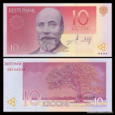Billetes extranjeros: ESTONIA - 10 KROONI - AÑO 2007 - S/C. Lote 90654853