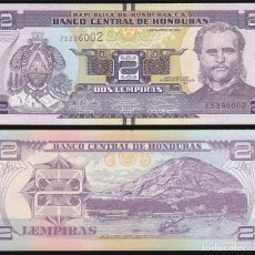 Billetes extranjeros: HONDURAS - 2 LEMPIRAS - 1 DE MARZO DE 2012 - S/C. Lote 82944628