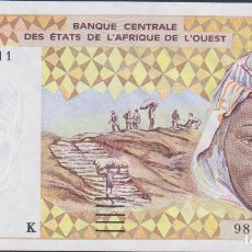 Billetes extranjeros: BILLETES - WEST AFRICAN STATES (SENEGAL) 1000 FRANCS 1998 - SERIE Nº 98054529516 - PICK-711KH (SC). Lote 237407210