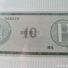 Billetes extranjeros: BILLETES CUBANOS. Lote 74506163
