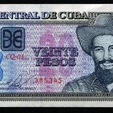 Billetes extranjeros: CUBA: 20 PESOS 2015 S/C. Lote 195496333