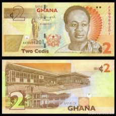 Billetes extranjeros: GHANA - 2 CEDIS - 6TH. MARCH 2013 - S/C. Lote 128533958