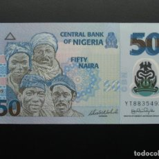 Billetes extranjeros: NIGERIA 50 NAIRA 2009 - SC UNCIRCULATED. Lote 194311197