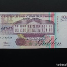 Billetes extranjeros: SURINAME 100 GULDEN 1998; SC-UNCIRCULATED. Lote 76387087