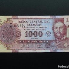 Billetes extranjeros: PARAGUAY 1000 GUARANIES 2004, SC - UNCIRCULATED. Lote 76402367