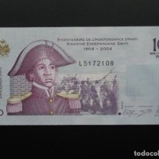 Billetes extranjeros: HAITI 10 GOURDES 2004, SC - UNCIRCULATED. Lote 76403763