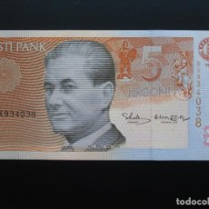 Billetes extranjeros: ESTONIA EESTI 5 CORONAS KROONI 1994, SC UNCIRCULATED.. Lote 76722063