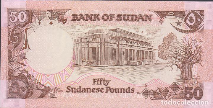 Billetes extranjeros: BILLETES SUDAN - 50 libras sudanesas 1991 - G/162-660396 - pick-48 (SC) - Foto 2 - 190901682