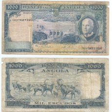 Billetes extranjeros: ANGOLA 1.000 ESCUDOS 1970 PICK 98. Lote 78690885