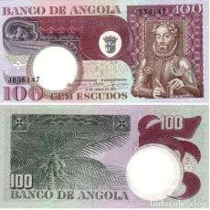 Billetes extranjeros: ANGOLA 100 ESCUDOS 1973 PICK 106 SIN CIRCULAR. Lote 78942317