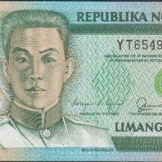 Billetes extranjeros: BILLETES - PHILIPPINES-FILIPINAS - 5 PISO 1990 - SERIE YT 654988 - PICK-178A (SC). Lote 295742513