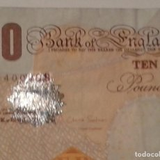 Billetes extranjeros: INGLATERRA 10 POUNDS. Lote 80519109