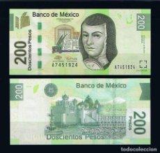 México 200 Pesos 2014 P 125 Series em Não Circulada